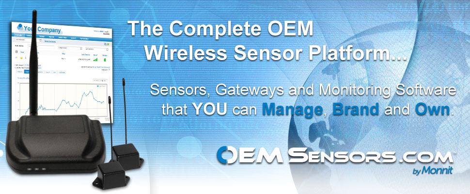The Complete OEM Wireless Sensor Platform!